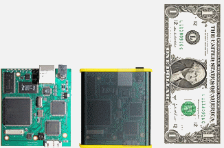 PXSe outside/inside compared to a dollar bill